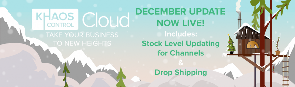 December 2017 Update - Stock Level Updates and Drop Shipping